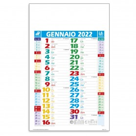 "Calendario Olandese ""Multicolor"""