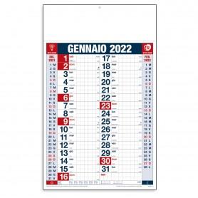 """Calendario Olandese """"Quadrettato"""""""