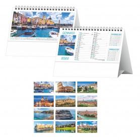 """Calendario da Tavolo """"Paesaggi e Città"""""""