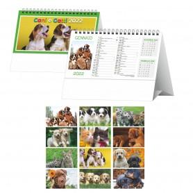 """Calendario da Tavolo Animali """"Cani e Gatti"""""""