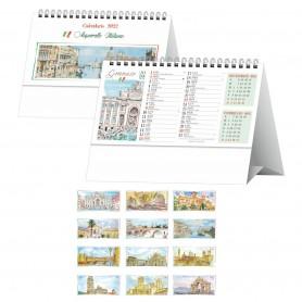 """Calendario da tavolo """"Città d'Italia"""""""