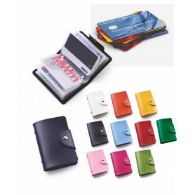 Portabiglietti–porta card in pu termovirante