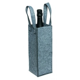 SACCA IN FELTRO PORTABOTTIGLIA / FELT BAG FOR 1 BOTTLE