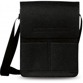 TRACOLLA IN FELTRO / FELT SHOULDER BAG