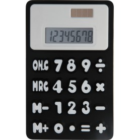 CALCOLATRICE IN MORBIDA GOMMA / SOFT RUBBER CALCULATOR