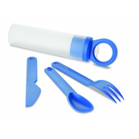 APRIBOTTIGLIE CON SET POSATE / BOTTLE OPENER WITH CUTLERY SET