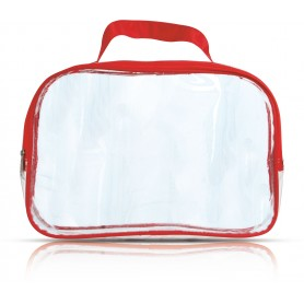 BEAUTY CASE TRASPARENTE / TRANSPARENT BEAUTY CASE